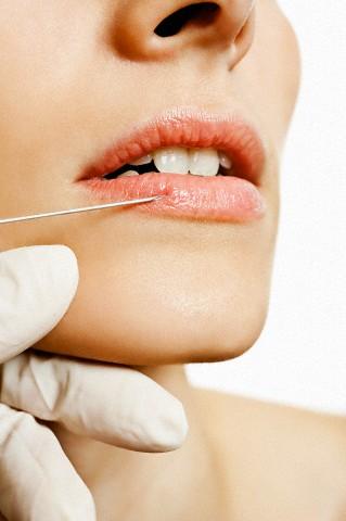 Контурное увеличение губ